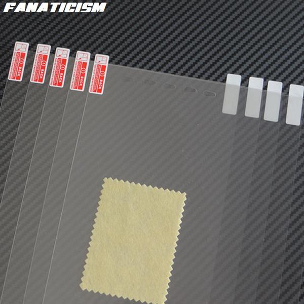 Fanaticism PET Clear Screen Protector For ipad mini 2/3/4/5 7.9 inch Tablet PC Transparent Screen Guard PET Film 100 sets/lot