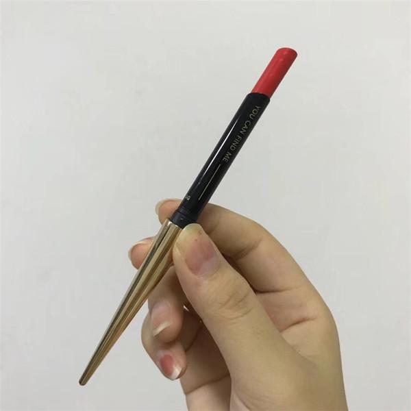 36pcs Free DHL shipping Hourglass Confession Lipstick Gold tube matte 6 color lipstick Famous brand Lip