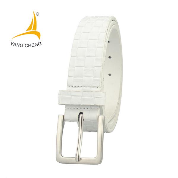 [CNYANGCHENG]white 150cm lon cheap corset waist belt designer jeans belts fashion casual 3cm simple belt male female usua