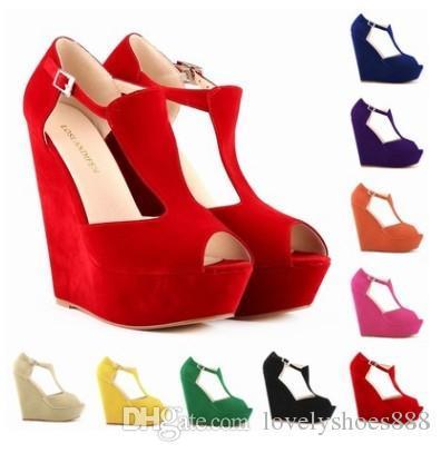 roman peep toe large size 35-42 blue beige orange purple rose white yellow green black color 14cm heel women shoes 474