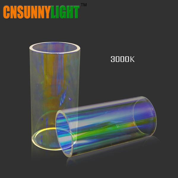 LED Auto Glühbirne Glasröhren Filter 3000K Gelb 4300K Warmweiß 8000K Blau DIY Farben für Led Scheinwerfer Kits in unserem Shop