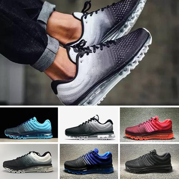 Großhandel 2017 Nike Air Max 2017 Designer Shoes Neue 2018 KPU II Rabatt Preis Männer Frauen Laufschuhe Mit Top Qualität Mode Outdoor Sports