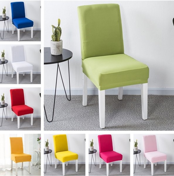 Miraculous New High Elastic Chair Cover Restaurant Hotel Wedding Dining Room Chair Cover Home Decors Seat Covers Spandex Stretch Banquet I382 Chair Sash Rental Squirreltailoven Fun Painted Chair Ideas Images Squirreltailovenorg
