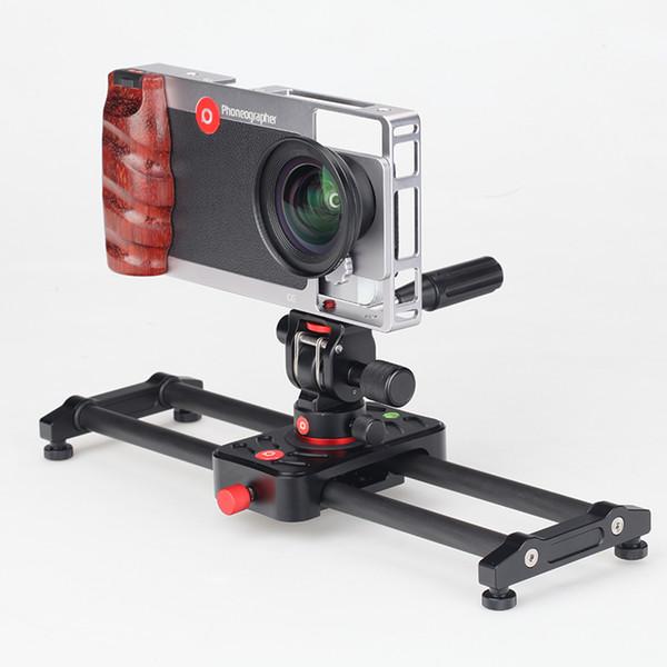 Mobile phone photography carbon fiber slide track camera track sweeping mobile phone photography camera PTZ slide stabilizer