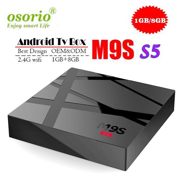 Android 7.1 Tv Box MXQ PRO 4K M9S V3 V5 K3 X9 S5 Quad Core 1GB 8GB Rockchip RK3229 Проигрыватель мультимедиа Smart Iptv Set Top Box