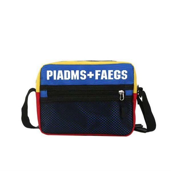 New student PU cross body bag Casual Men And Women Hip-hop Shoulder Bag Mini Mobile Phone Packs