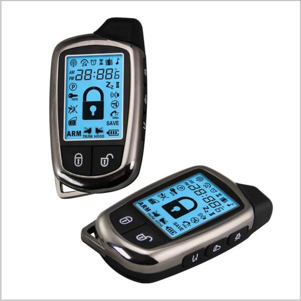 CarBest New1068 Fahrzeug Sicherheit Paging Auto Alarm 2 Way LCD Kit Automatische | Keyless entry system | Auto Alarmanlage System-02