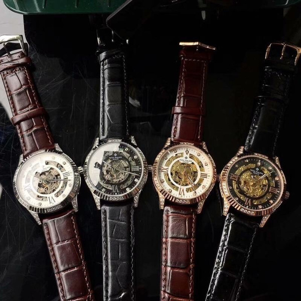 2018 watch flamboyant type: boutique men's watch (top) strap: real cowhide / 361 steel strap (durable)