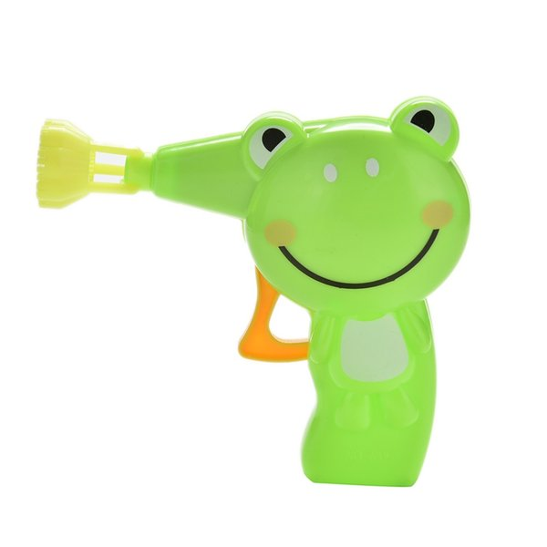 1PCS Kids Outdoor Toy High Quality Automatic Soap Animal Bubble Gun Cartoon Animal Model Colorful Soap Water Bubbles