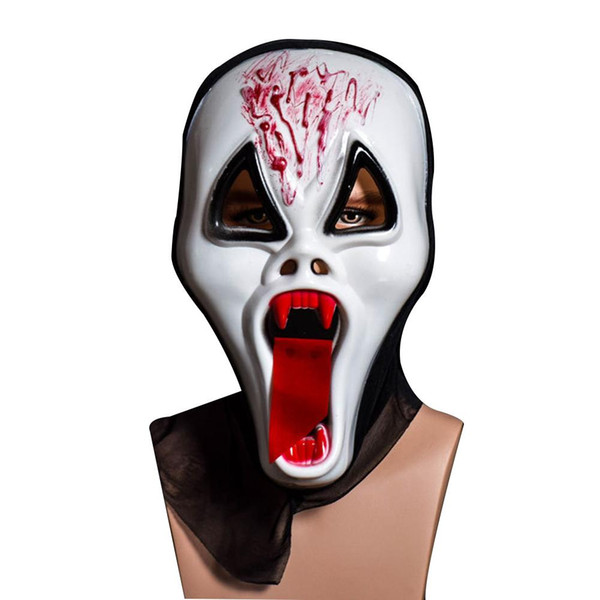 1pcs Ghost Festival Whole Person Halloween Mask Full Face Props Horror Single Devil Mask for Halloween
