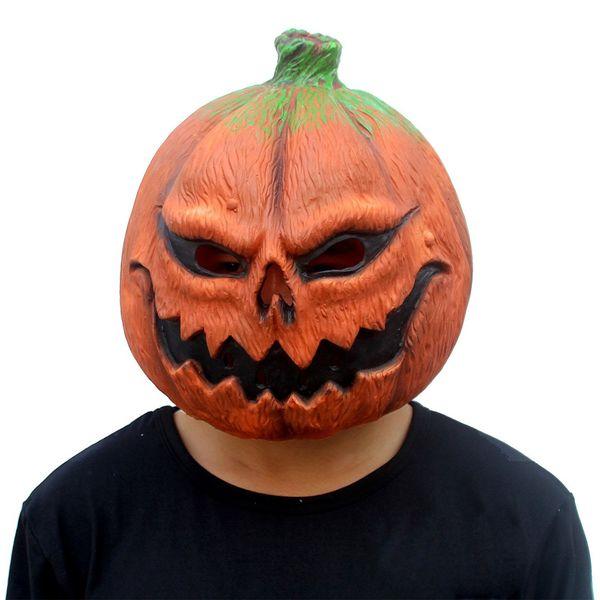 Deluxe novità maschera testa di halloween zucca forma cranio maschere horror rifornimenti festa di festa puntelli festa in maschera in lattice maschera cosplay full face