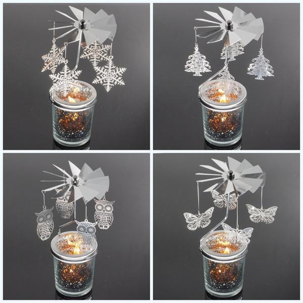 Metall Originalität Kerzenhalter für Business Geschenk Kerzenhalter Hochzeit marokkanischen Laternen drehen Kerzenhalter kreative Tisch Dekor 12 95km jj