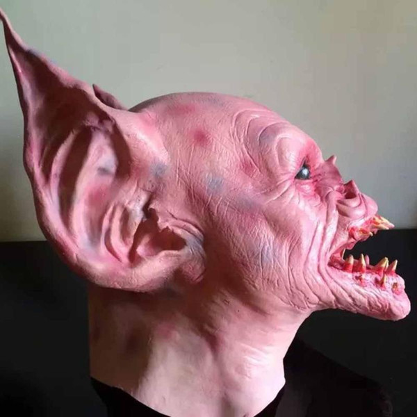 Halloween Scary Mask Costume Party Latex Mask Strange Adults Cosplay Devils Full Face Animals Head Batman Mask S3
