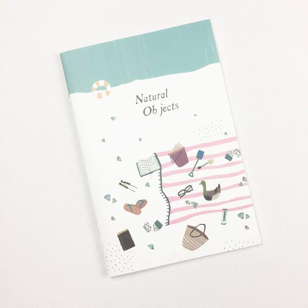 Zaman tema Sevimli kawaii A5 notpaper 30 sayfa planlayıcısı okul ofis kırtasiye malzemeleri hediye