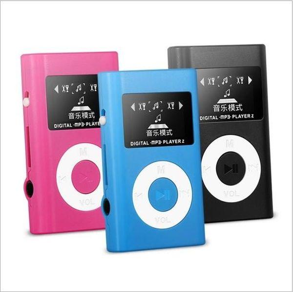 Mini USB Clip MP3 Player LCD Screen Support Supporto 2/4/8/16 GB Micro SD/TF card