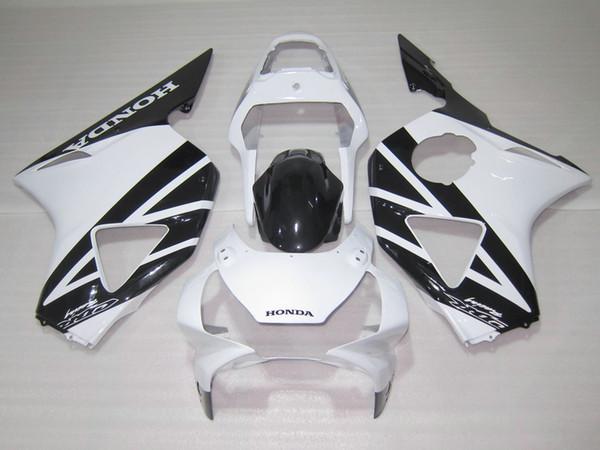 Hot sale fairings set for Honda CBR900RR 2002 2003 CBR954 black white fairing kit 02 03 CBR954RR CBR 954RR ZZ15