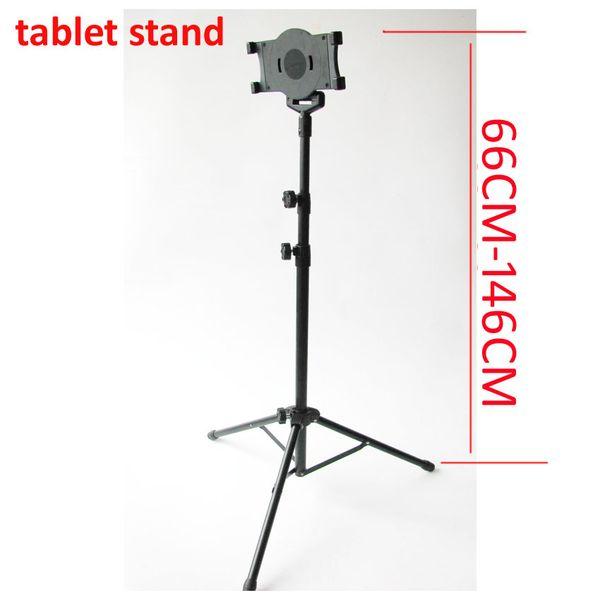 Suporte ajustável do telefone do suporte do assoalho da tabuleta de 14 polegadas 10in altura de 9 polegadas