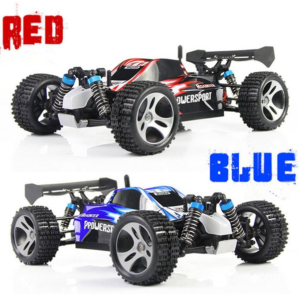 A959 Rc Car 2 .4g 1 :18 Scale Off -Road Vehicle Buggy High Speed Racing Car Remote Control Truck Four -Wheel Climber Suv Toy Cars