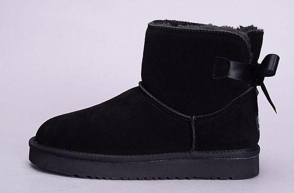 Ayak bileği botları siyah