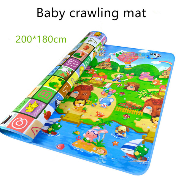 best selling Baby Crawling Play Puzzle Mat Children Educational Carpet Toy Double-sided Soft Floor Game Carpet Toy Developing Mats Children Kids Rug