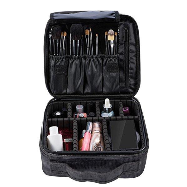 Large Women Travel Cosmetic Cases Professional Toiletry Bag Ladies Make Up Bag Wash Organizer Cosmetic Bags for Cosmetics Brush