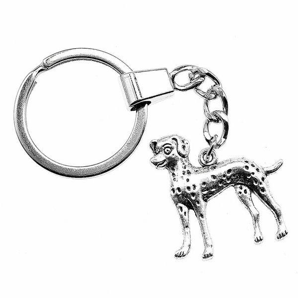 6 Pieces Key Chain Women Key Rings Fashion Keychains For Men Puppy Dog 29x29mm