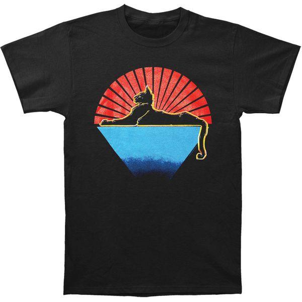 Jerry Garcia erkek Kediler T-shirt Siyah Ucuz Satış% 100% Pamuk T Shirt Boys Için