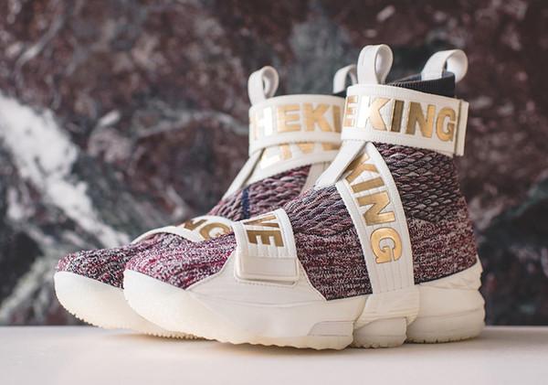 25e200f9 Kith x LeBron James Lifestyle 15 витражи мужские Hight Top баскетбол обувь  Lbj15 Puma кроссовки сапоги