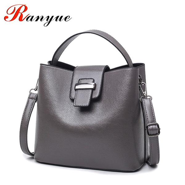 wholesale Bucket Bag Women Leather Shoulder Bag Luxury Handbags Women Bags Designer Bolsas De Couro Feminina Bolsas De Couro De