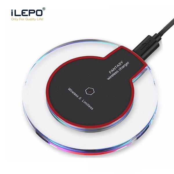 QI sans fil chargeur chargeur tablette sans fil rapide charge portable pour téléphone Samsung Galaxy S6 S8