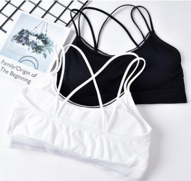 9252f783e7f464 2019 Brief Breathable Sports Bras Women Yoga Fitness Stretch Workout Crop  Tops Tanks Seamless Sports Bras Yoga Bra From Hengda168