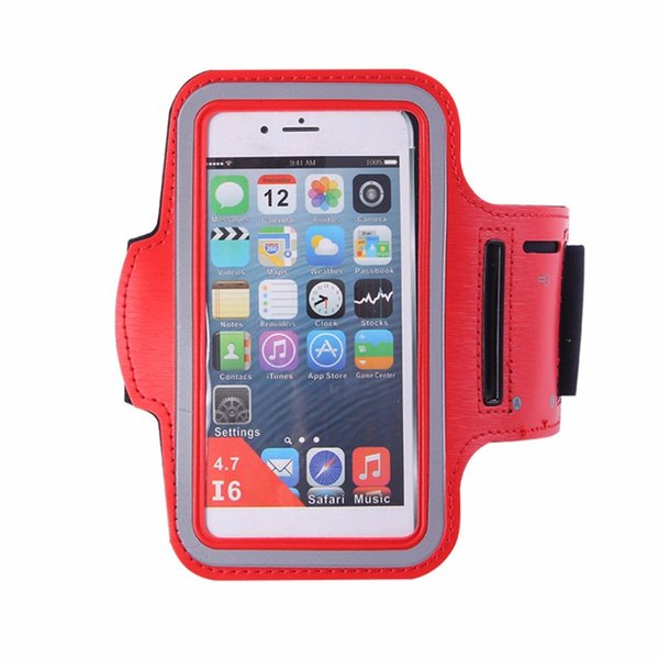 Breathable Universal Sport Running Arm Band Bag Smart Touch Screen Gym Mobile Phone Storage Cover for iPhone 6/6S/7 4.7 inch