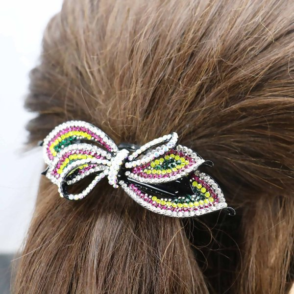 34x93mm Korean Style Head Bands Hair Clip Hairpin Wedding Headdress Hair band Gifts Bows Headpiece Fashion Jewelry Making 11.11
