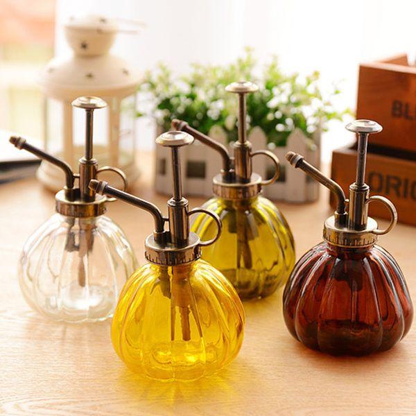 Vintage Decorative Watering Cans Pot Spray Bottle Pressure Sprayer For Succulent Plants Bonsai Flower Garden Tools