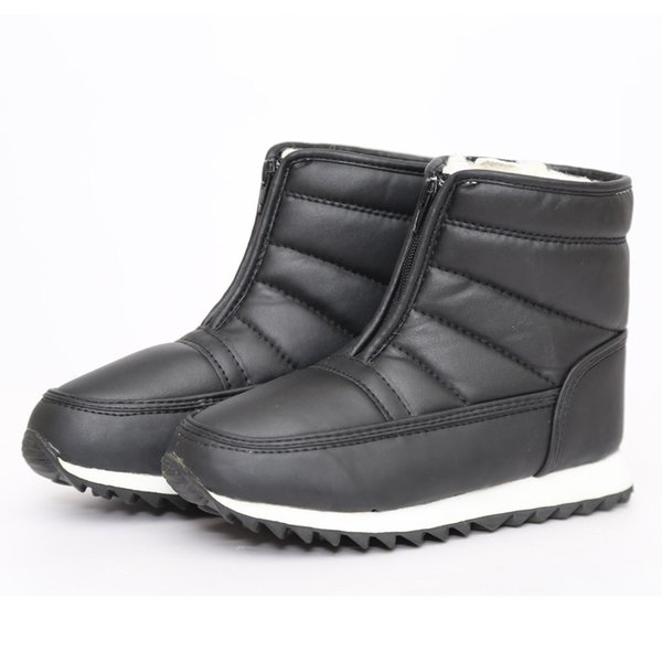 Bottes de neige Femmes Botte D'hiver Mère Chaussures Antidérapant Flexible Mode Casual Femmes Chaussures Européen Botas Mujer Nouvelle Arrivée