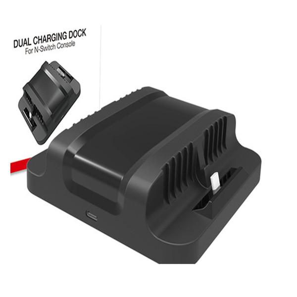 Для Nintend переключатель консоли двойной зарядки док-станция стенд держатель для хранения быстрая зарядка зарядное устройство для Nintendo переключатель NS консоли