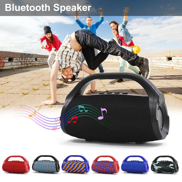 BS118 Bluetooth speaker Stereo Handsfree Subwoofer Dual Loudpeakers Outdoor Sports Speakers Support TF Card U For iphone Samsung