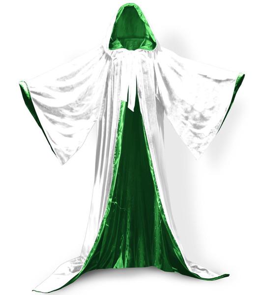 Forro branco + verde