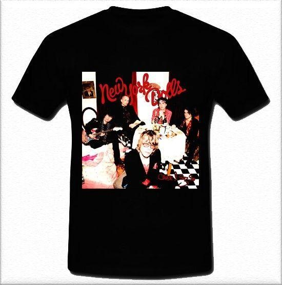 The New York Dolls American hard rock band Cause I Sez So Men Summer Short Sleeves T Shirt