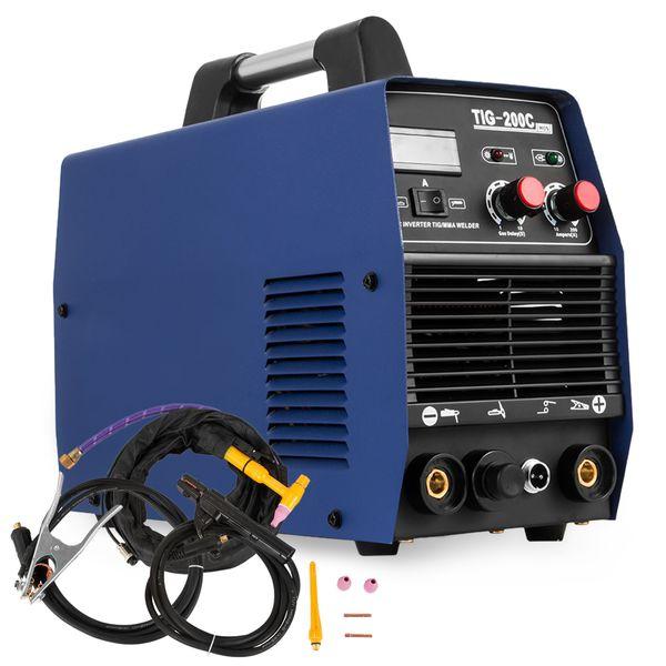 New in 200AMP HF Inventer Start TIG/MMA 2 in 1 DC Inverter Welder TIG-200 Inverter Welding Machine