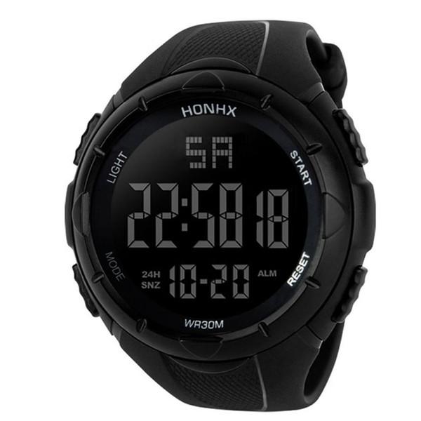 Luxury Men Watch Automatic Analog Digital Army Sport LED Free Shipping Carnival Waterproof Chronograph Wrist Watch