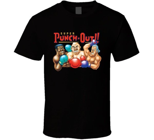 Super Punch Out Boxing Snes Video Game T Shirt Cool Casual pride t shirt men Unisex New Fashion tshirt Loose Size top ajax