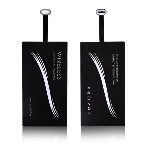 Тип C USB-C Беспроводное зарядное устройство Qi Зарядное устройство для Android-смартфона Универсальный тип c мобильным телефоном Зарядное устройство-приемник