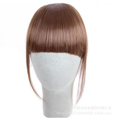 best selling Factory direct sale with sideburns, Ms Liu bangs, medium and thick, supernatural bangs, direct selling factory
