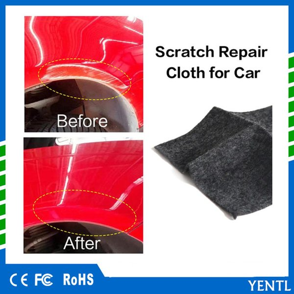 top popular free shipping Paint Scratch Repair Cloth Scratch Removal Useful Fix Clear Car Scratch Polish Cloth Fiber Automobiles Light Paint Scratches 2019