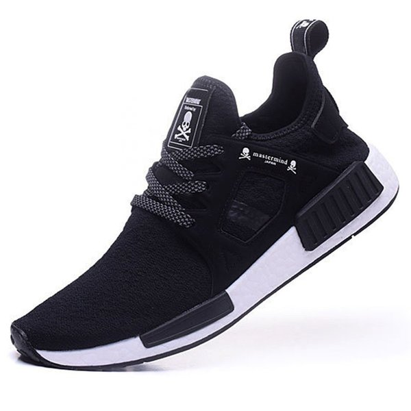 best service d331c 10045 Cheap 2018 With Box Women Mens Mastermind Nmd X Xr1 Japan Sneakers Runner  Mmj Master Mind Primeknit Pk Black Sports Running Shoes Good Running Shoes  ...