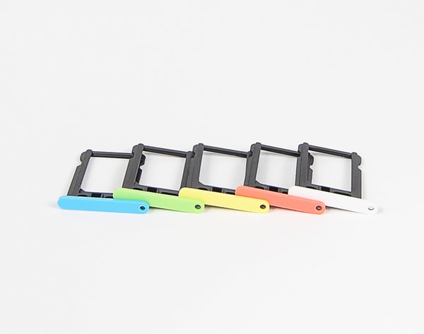 For iPhone 5 5s 5c 5SE 6 6plus 6S 6s Plus 7 7 PLUS SIM Card Tray Holder Slot Replacement Spare Repair Parts
