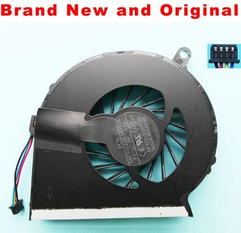 FREE SHIPPING New Original laptop cpu fan for HP CQ58 G58 655 CPU cooling fan cooler 688306-001 DFS531205MC0T FB7U DC 5V 0.5A