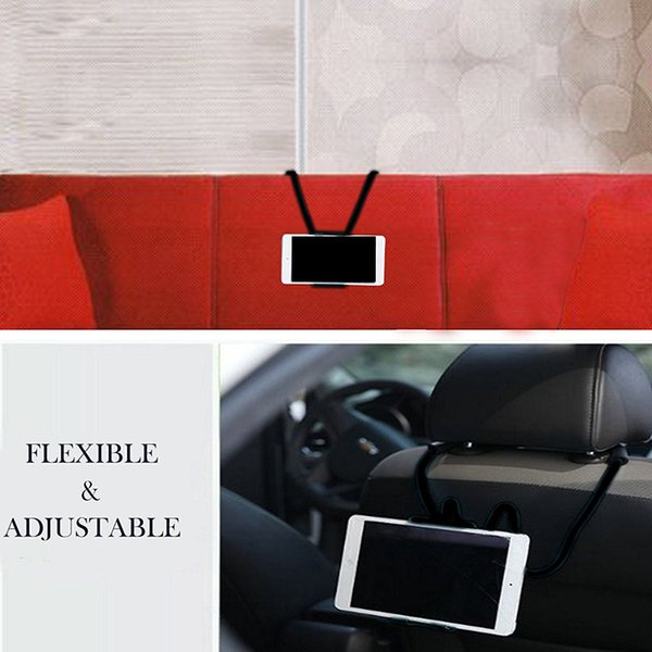 2018 Handy-Halter Handy-Halterung kleines Geschenk Handwerkzeug 55cm Länge Arm-Hals-Handy-Halterung für Iphone Tablet-Halter bis zu 19cm Breite