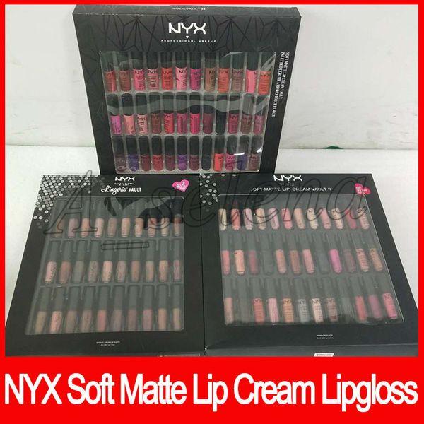 Nyx oft matte lip cream vault lingerie vault lip tick lip glo matte no fading oft velvet lip makeup kit 36 color 30 color